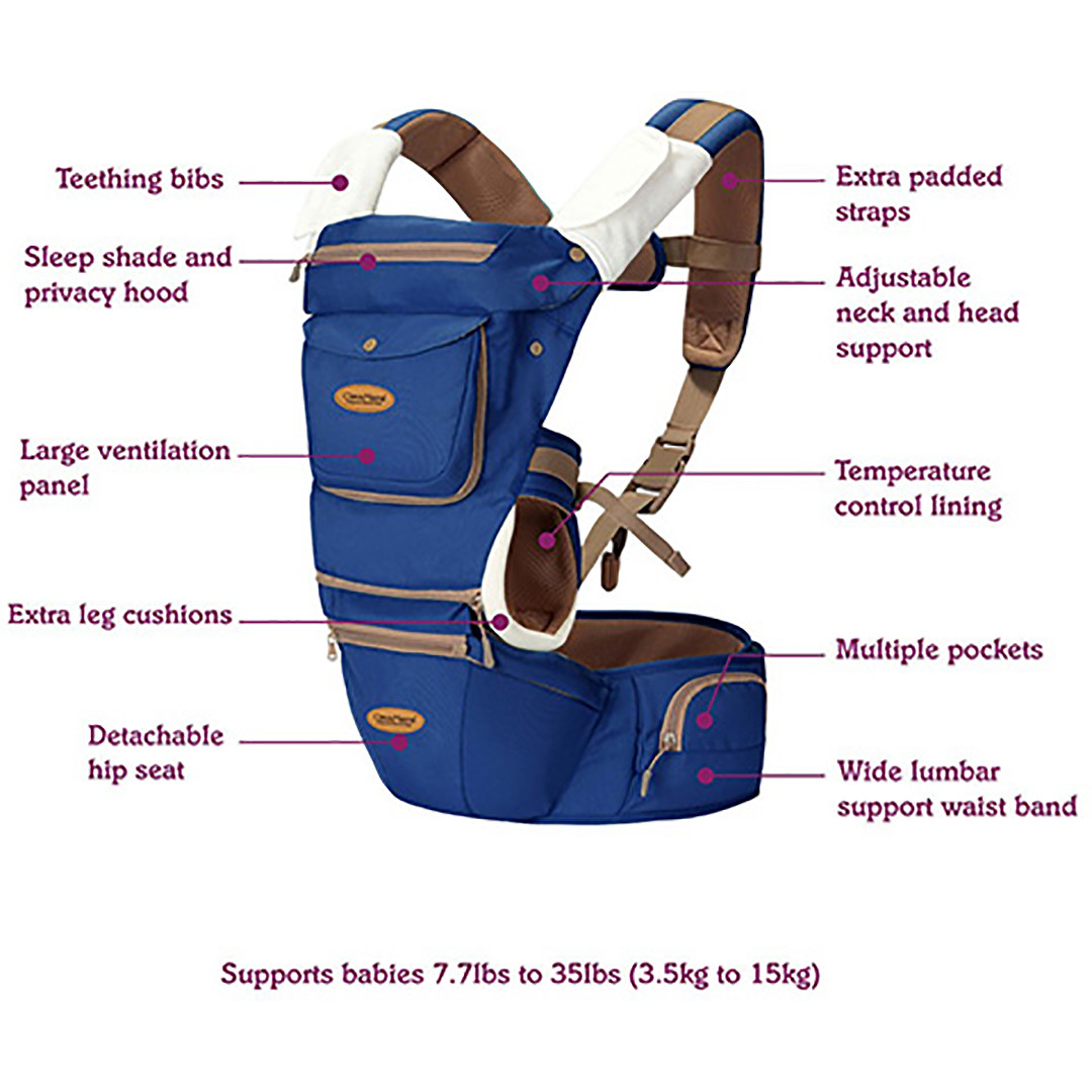 Clevamama Ergonomic Baby Hip Carrier