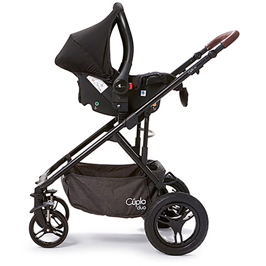 Cupla Duo with car seat