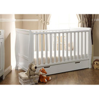 Stamford Cot Bed - White