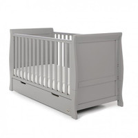 Stamford Cot Bed - Warm Grey