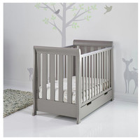 Stamford Mini Cot Bed - Taupe