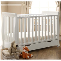 Stamford Mini Cot Bed - white