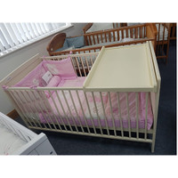 Baby Elegance Travis Cotbed + Cot Top Changer