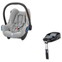 Maxi Cosi Cabriofix Infant Car Seat + FamilyFix Isofix Base