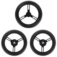 "Mountain Buggy Aerotech 12"" Wheel Set of 3"