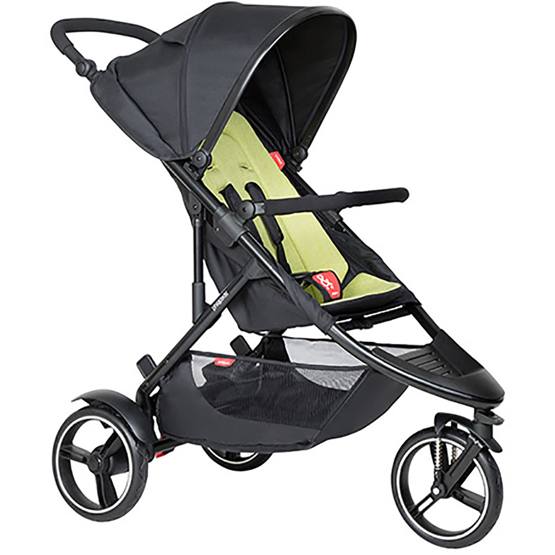 Phil & Ted Dot Pushchair - Apple