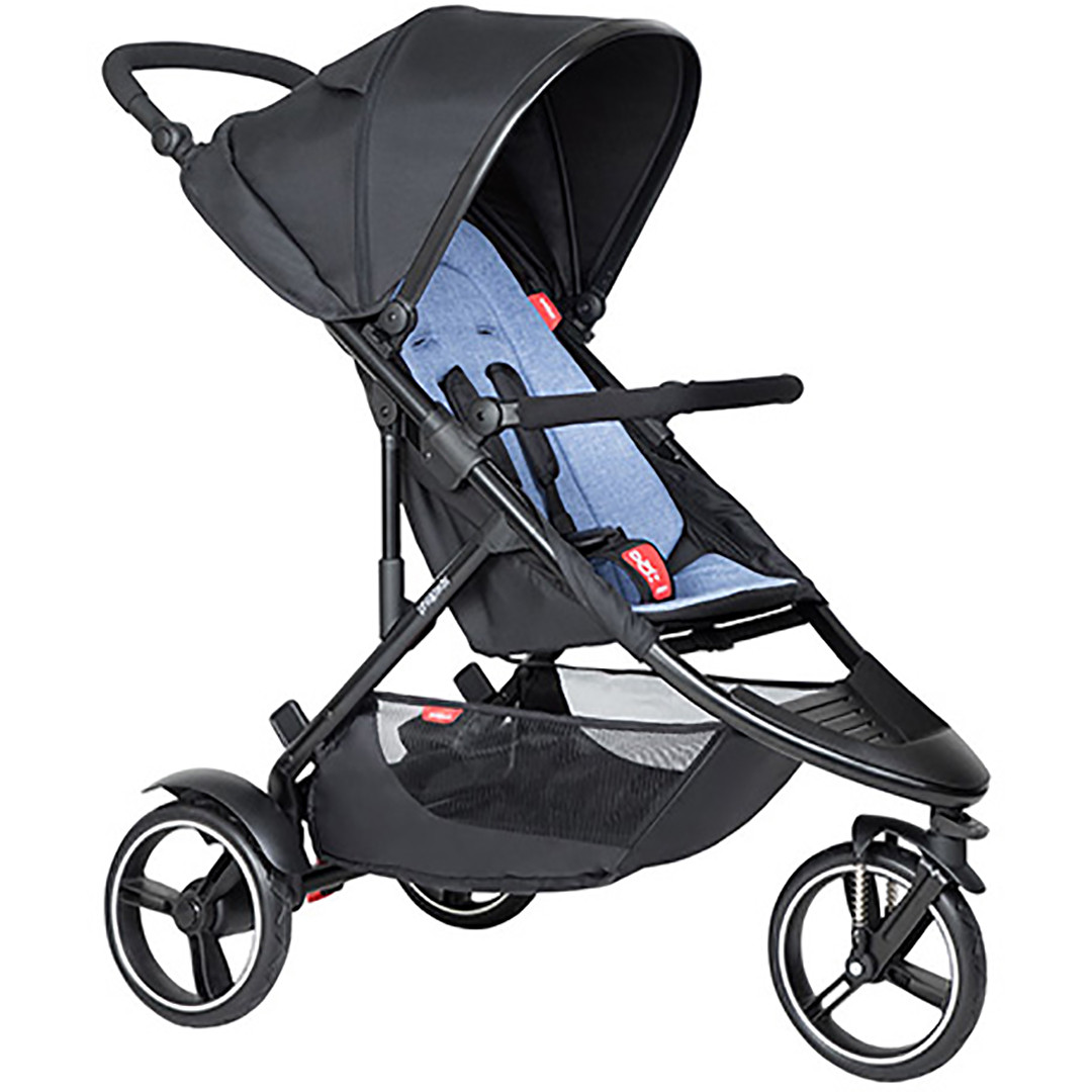Phil & Ted Dot Pushchair - Sky