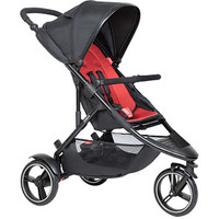 Phil & Ted Dot Pushchair - Chilli