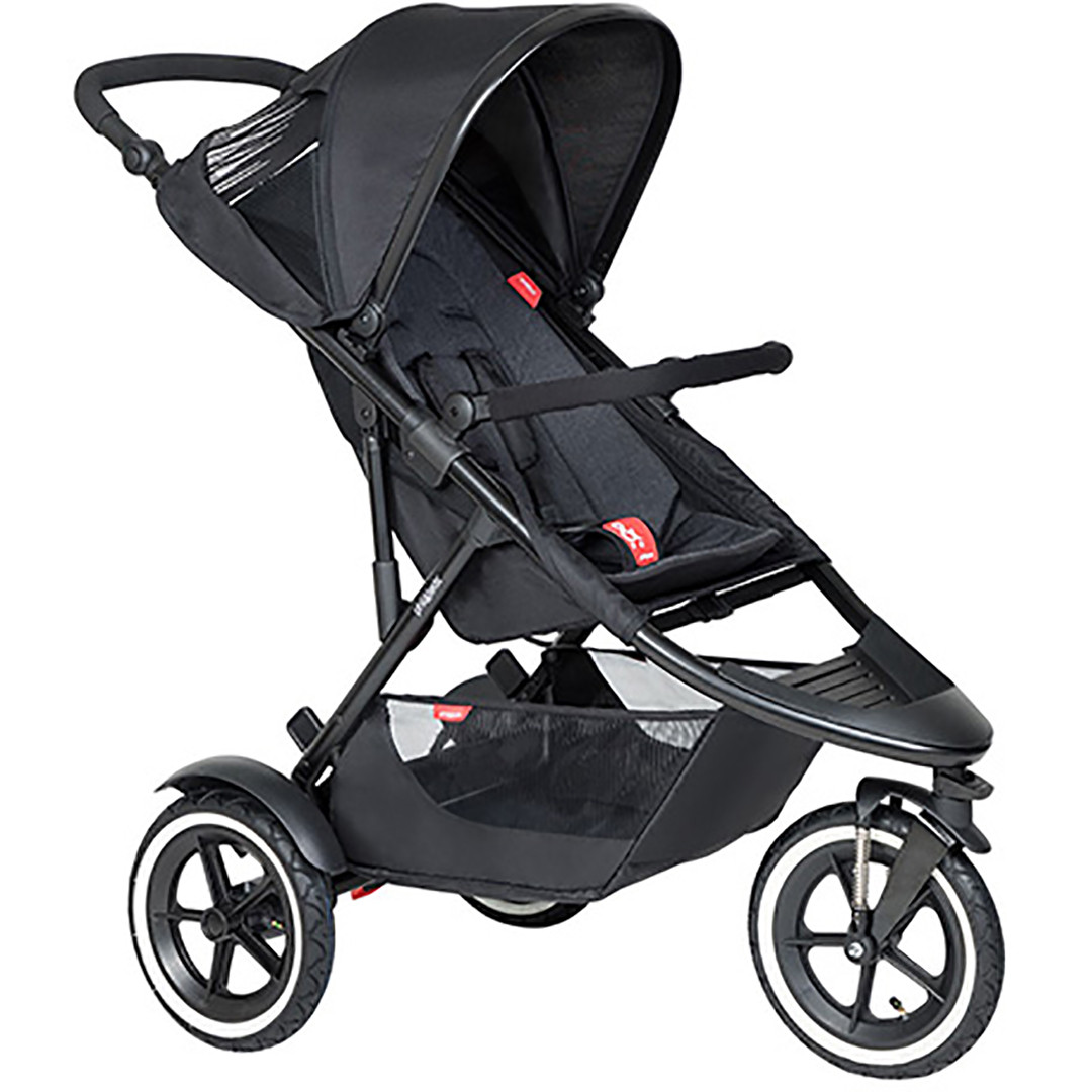 Phil & Ted Sport Pushchair - Black