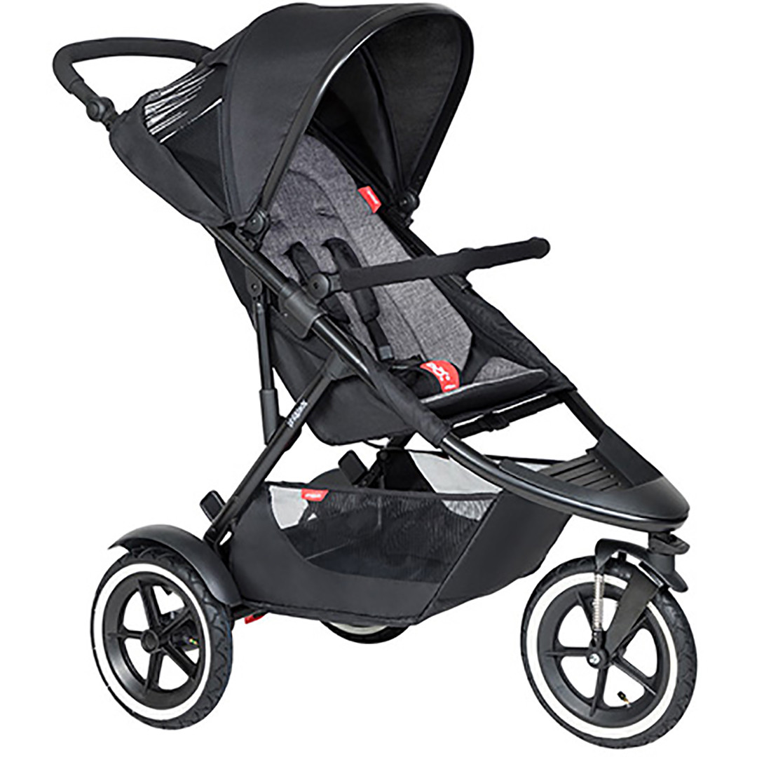 Phil & Ted Sport Pushchair - Charcoal