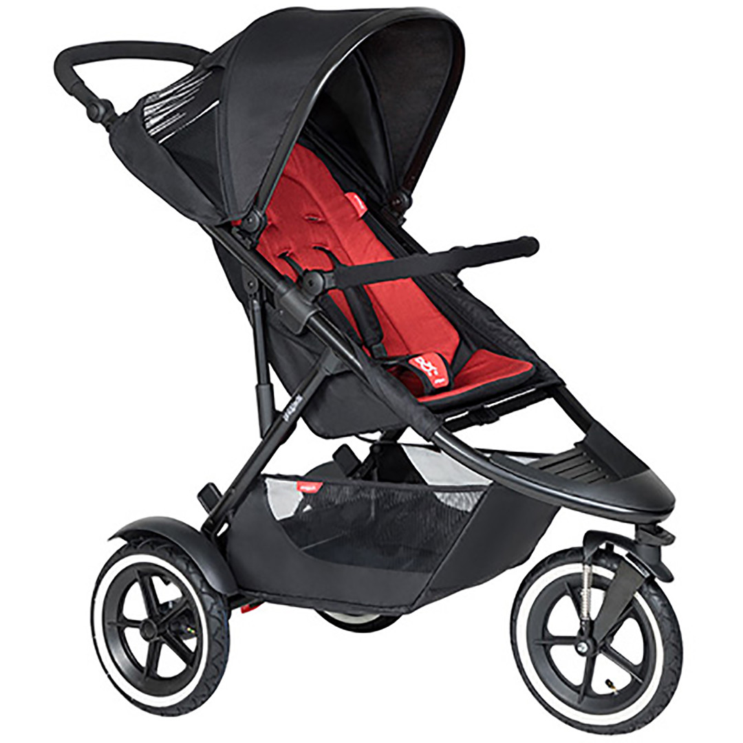 Phil & Ted Sport Pushchair - Chilli