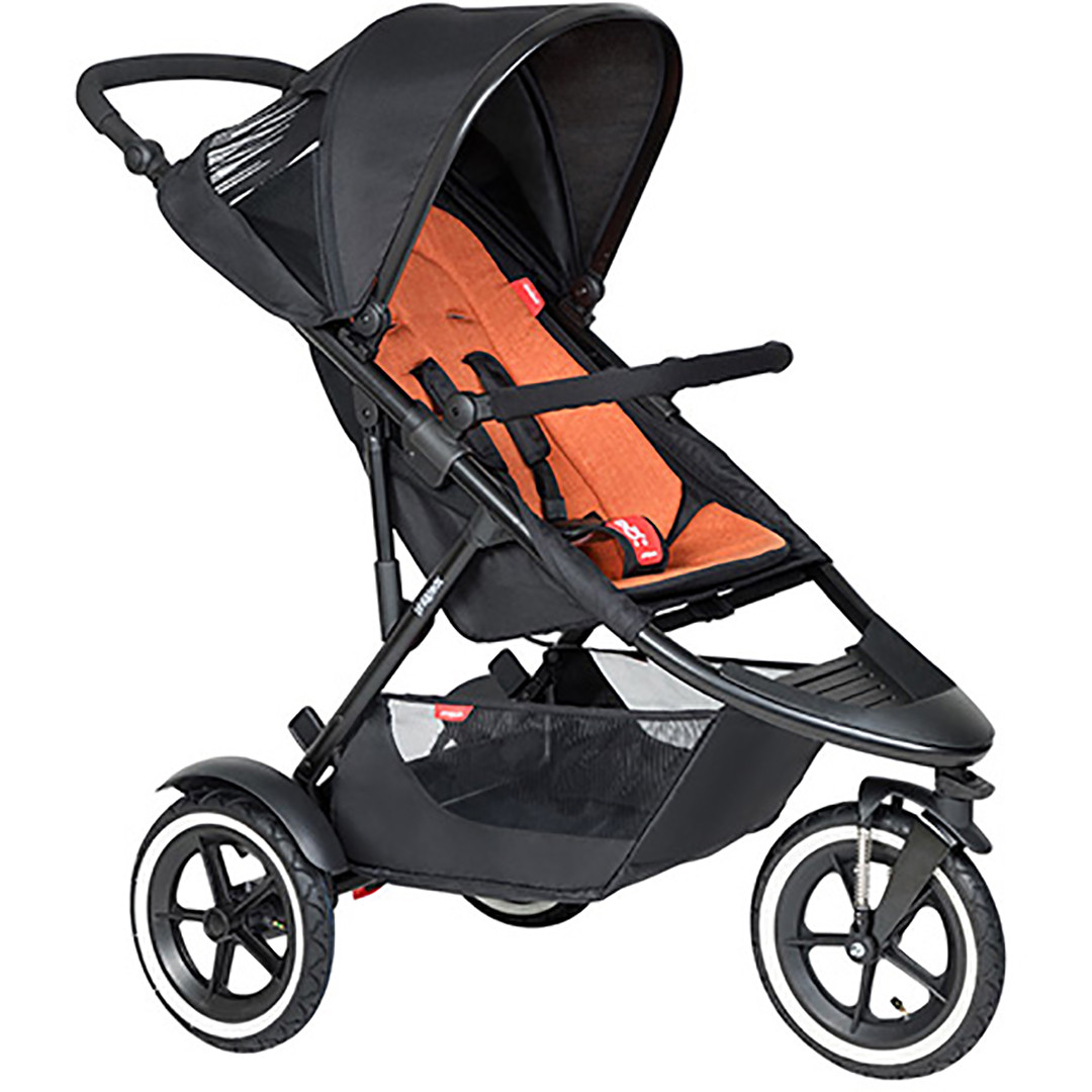 Phil & Ted Sport Pushchair - Rust