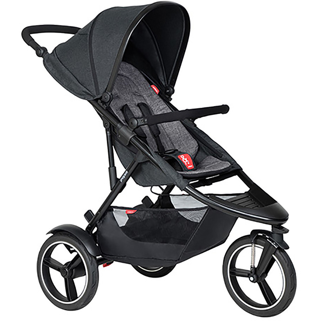 Phil & Ted Dash Pushchair - Charcoal