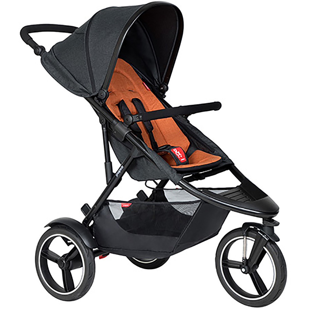 Phil & Ted Dash Pushchair - Rust