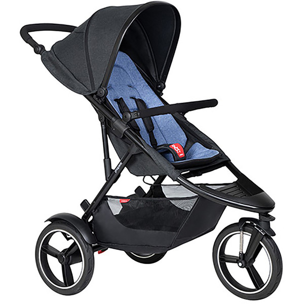 Phil & Ted Dash Pushchair - Sky