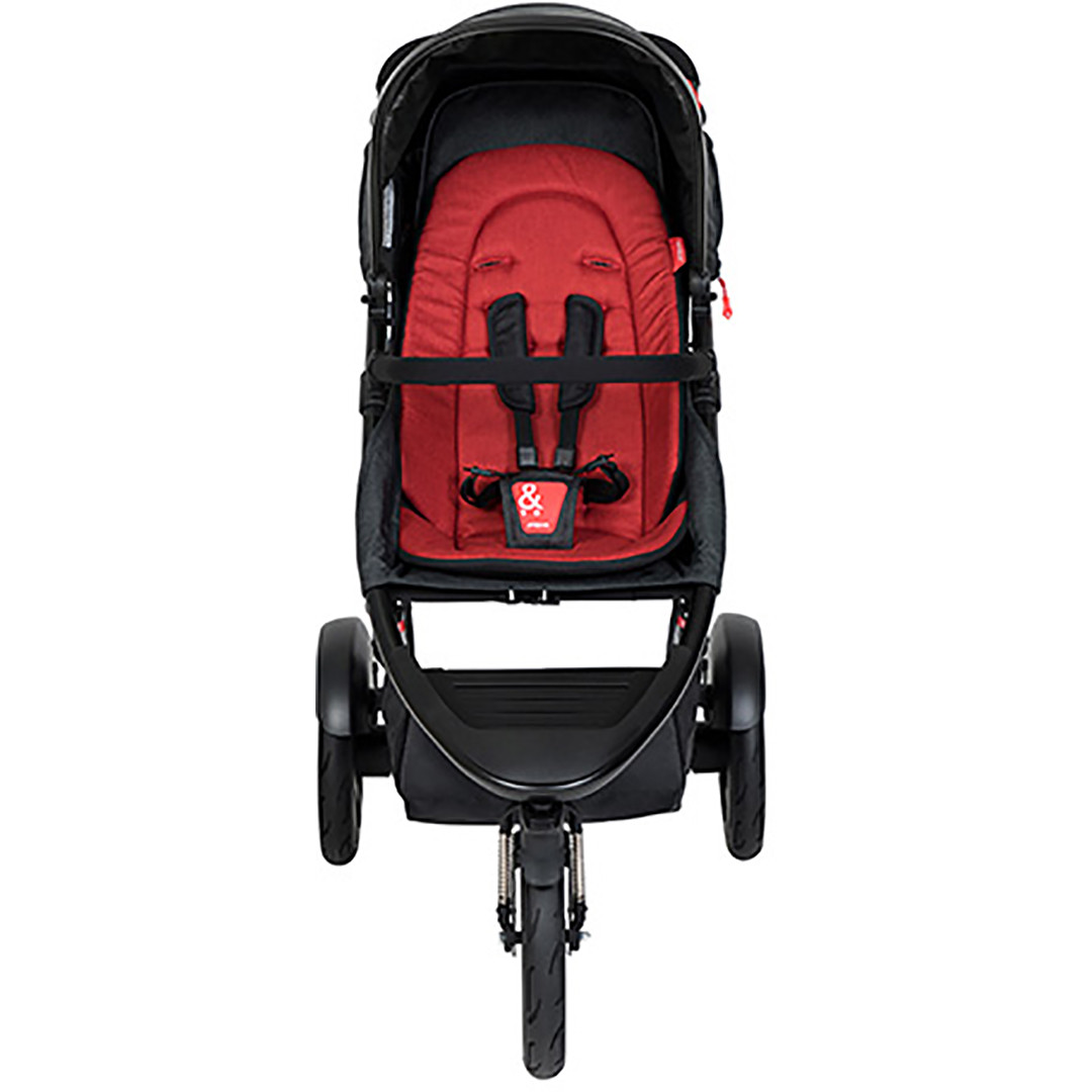 Phil & Ted Dash Pushchair - Chilli