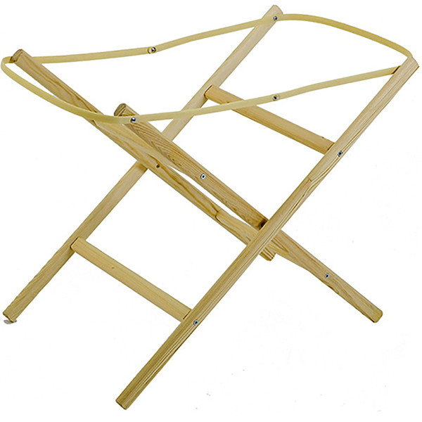 Baby Elegance Moses Basket Stand - Pine
