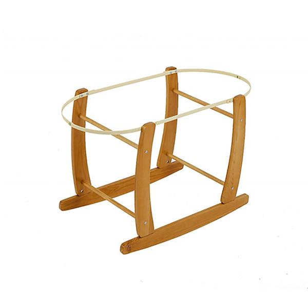 Baby Elegance Rocking Moses Basket Stand - Natural