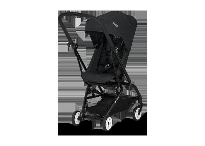 Cybex Eezy S Twist Stroller - Lavastone Black