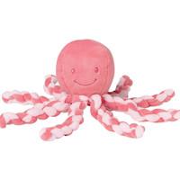 Nattou Lapidou Octopus -Coral Pink