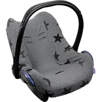 Dooky Seat Cover 0m+ - Grey Stars