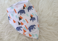The Stork Box Dribble Bib - Bear