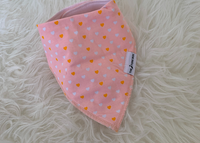The Stork Box Dribble Bib - Pink Heart