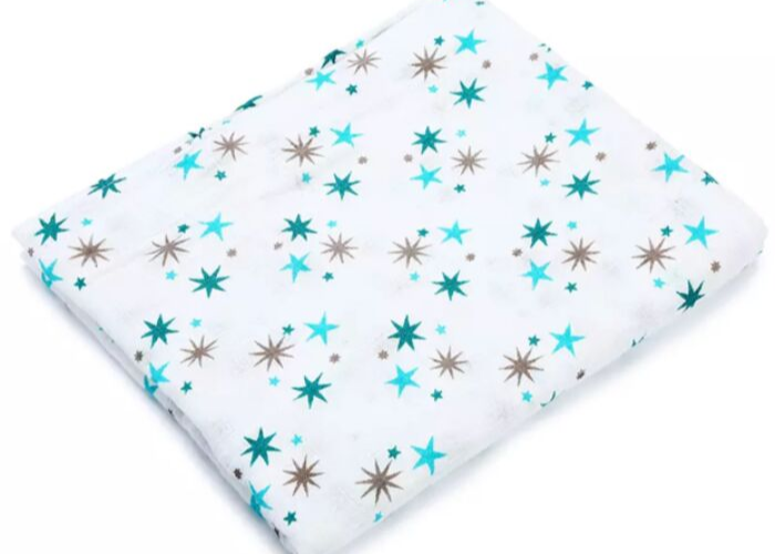 The Stork Box Swaddle Muslin Blanket - Star Is Born