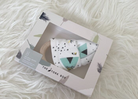 The Stork Box wooden Teether - Cactus