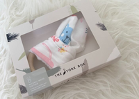 The Stork Box Wooden Teether - Animal