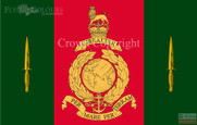 Commando Training Centre Royal Marines Flag