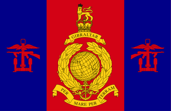 Amphibious Trials and Training Unit Royal Marines Flag
