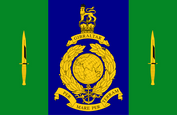 Signals Squadron Royal Marines Flag