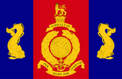 Royal Marines Poole Flag