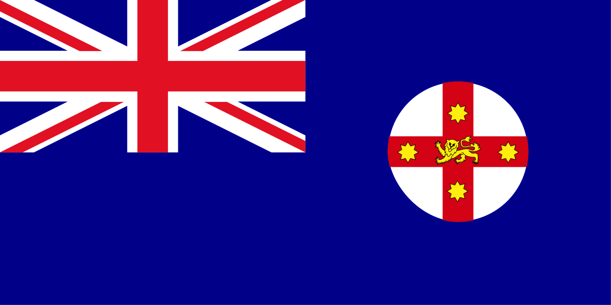 Buy New South Wales Flag Online | Printed & Sewn Flags | 13 sizes