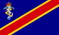 Corps of Royal Electrical and Mechanical Engineers Camp Flag