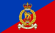 Adjutant General's Corps Camp Flag