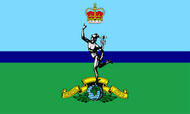 Royal Corps of Signals Camp Flag
