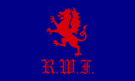 The Royal Welch Fusiliers Camp Flag