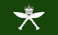 The Royal Gurkha Rifles Camp Flag
