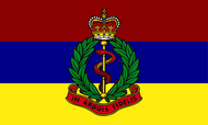 Royal Army Medical Corps Camp Flag