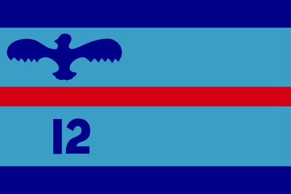 Squadron Leader (in this case of No. 12 Squadron) Flag