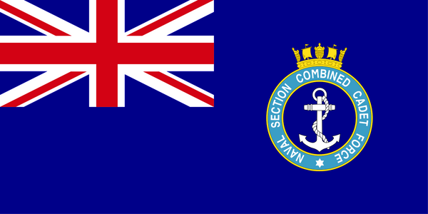 Naval Section Combined Cadet Force Flag