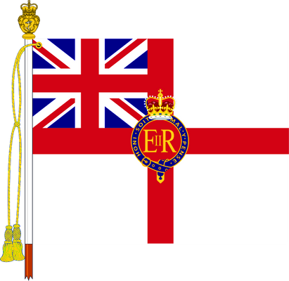 The Queen's Colour of The Royal Navy