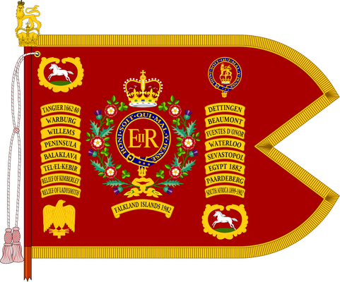 The Cavalry Guidon of The Blues and Royals