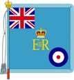 The Queen's Colour for the Royal Air Force in the UK