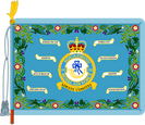 The Squadron Standard of No.32 (The Royal) Squadron, RAF