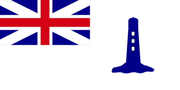 Northern Lights Commissioners' Flag (uses pre-1801 Union Flag)
