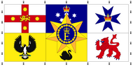 Personal Flag of HM The Queen (Australia)