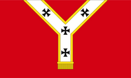 Cardinal Archbishop of Westminster Flag